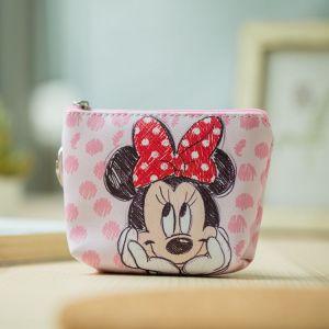 Disney children cartoon purse Coin Mickey Mouse coin bag girl boy gift handbag storage key pendant Innrech Market.com