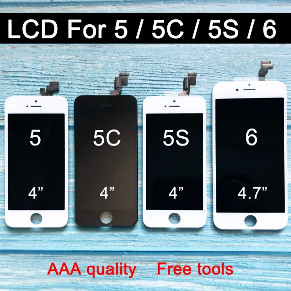 Factory Sale LCD For Iphone 6 lcd Display for iphone 5 5c 5s LCD Screen Display Factory Sale LCD For Iphone 6 lcd Display for iphone 5 5c 5s LCD Screen Display Touch Digitizer Assembly Screen Replacement
