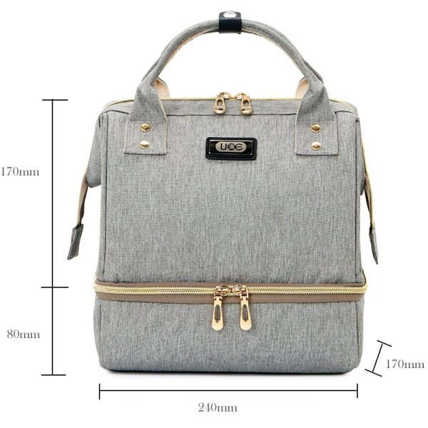 Fashion Mummy Maternity Diaper Bag Large Baby Bags For Mom Thermal Insulation Travel Nappy Chaning Backpack 2 Fashion Mummy Maternity Diaper Bag Large Baby Bags For Mom Thermal Insulation Travel Nappy Chaning Backpack Stroller Organizer