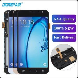 For Samsung J3 2016 LCD J320F J320FN J320M LCD Display Touch Screen Digitizer Frame Home Button Innrech Market.com