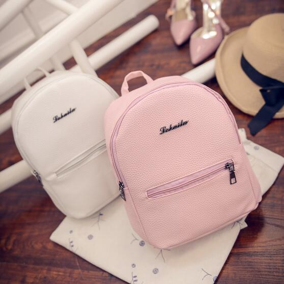 Free shipping Sweet College Wind Mini Shoulder Bag High quality PU leather Fashion girl candy color Free shipping Sweet College Wind Mini Shoulder Bag High quality PU leather Fashion girl candy color small backpack female bag