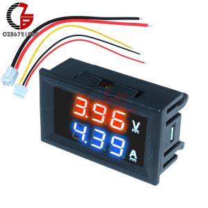 High Accuracy DC 100V 10A Digital Car Voltmeter Ammeter Motorcycle Voltage Indicator Tester Current Meter Replace Innrech Market.com