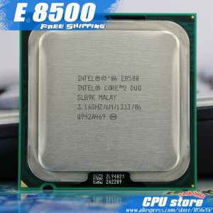 Intel Core 2 Duo E8500 CPU Processor 3 16Ghz 6M 1333GHz Dual Core Socket 775 working Innrech Market.com