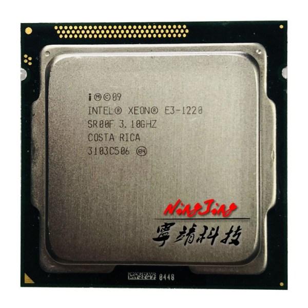 Intel Xeon E3 1220 E3 1220 3 1 GHz Quad Core CPU Processor 8M 80W LGA Intel Xeon E3-1220 E3 1220 3.1 GHz Quad-Core CPU Processor 8M 80W LGA 1155