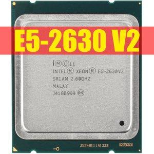 Intel Xeon E5 2630 V2 Server processor SR1AM 2 6GHz 6 Core 15M LGA2011 E5 2630 Innrech Market.com