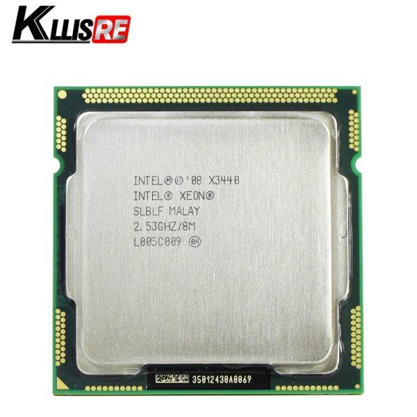 Intel Xeon X3440 Processor Quad Core 2 53GHz LGA1156 8M Cache 95W Desktop CPU Intel Xeon X3440 Processor Quad Core 2.53GHz LGA1156 8M Cache 95W Desktop CPU
