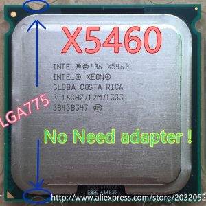 Intel Xeon X5460 Processor 3 16GHz 12M 1333 close to LGA775 Core 2 Quad Q9650 cpuworks Innrech Market.com
