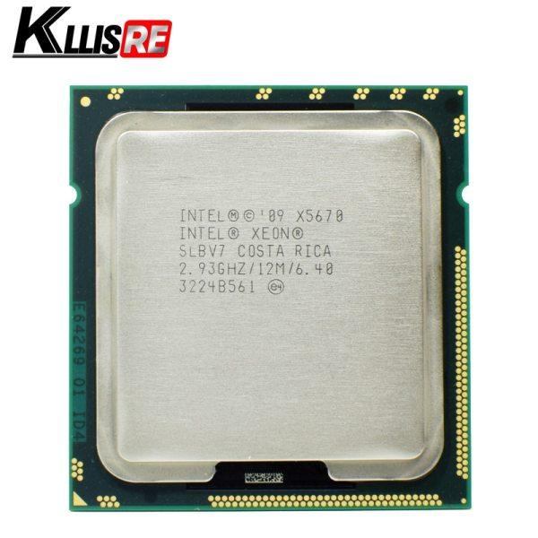 Intel Xeon X5670 Processor 2 93GHz LGA 1366 12MB L3 Cache Six Core server CPU Intel Xeon X5670 Processor 2.93GHz LGA 1366 12MB L3 Cache Six Core server CPU