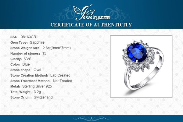 JewelryPalace Created Blue Sapphire Ring Princess Crown Halo Engagement Wedding Rings 925 Sterling Silver Rings For 5 JewelryPalace Created Blue Sapphire Ring Princess Crown Halo Engagement Wedding Rings 925 Sterling Silver Rings For Women 2019