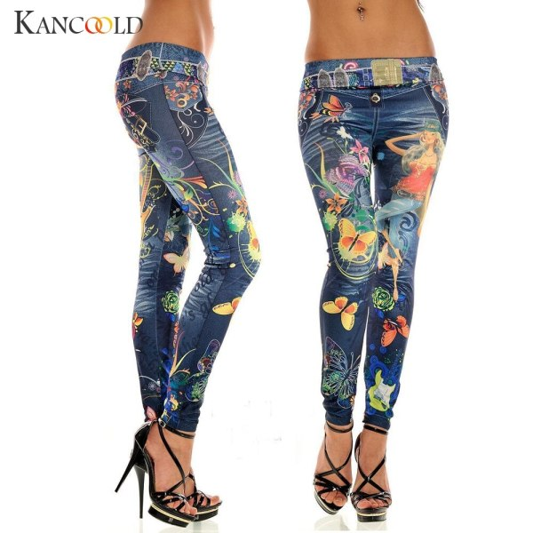 KANCOOLD jeans Sexy Womens Skinny Blue Jean Denim Stretchy Jeggings Pants fashion Snowflake jeans woman 2018Oct23 4 KANCOOLD jeans Sexy Womens Skinny Blue Jean Denim Stretchy Jeggings Pants fashion Snowflake jeans woman 2018Oct23