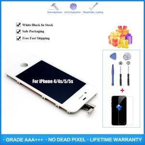 Lifetime Assurance Pantalla LCD for iPhone 5 5s 6 6s 6Plus Ecran Screen Digitizer Assembly LCD Innrech Market.com