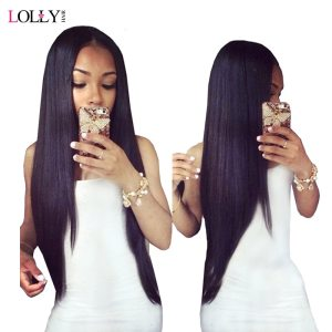 Lolly Straight Hair Bundles With Closure Brazilian Hair Weave Bundles With Closure Human Hair Bundles With Innrech Market.com