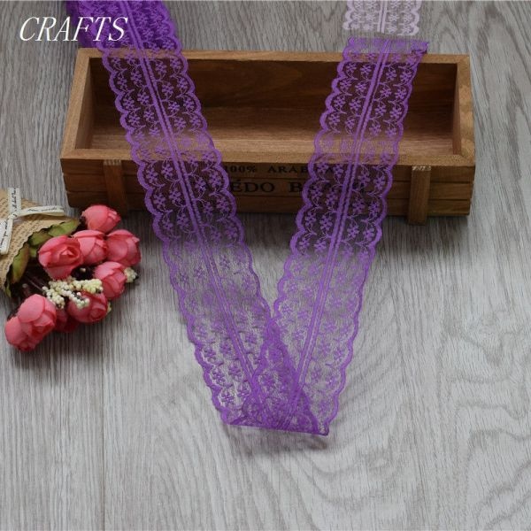 New 10 yards of beautiful lace ribbon 4 5 cm wide DIY Clothing Accessories floral accessories 1 New! 10 yards of beautiful lace ribbon, 4.5 cm wide, DIY Clothing / Accessories / floral accessories, etc.