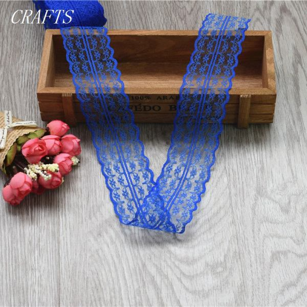 New 10 yards of beautiful lace ribbon 4 5 cm wide DIY Clothing Accessories floral accessories 2 New! 10 yards of beautiful lace ribbon, 4.5 cm wide, DIY Clothing / Accessories / floral accessories, etc.