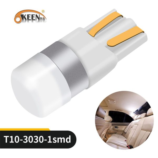 OKEEN Car T10 Led Canbus 6000K White T10 w5w Led Bulbs DRL Turn Parking Width Interior OKEEN Car T10 Led Canbus 6000K White T10 w5w Led Bulbs DRL Turn Parking Width Interior Dome Light Reading Lamp 12V Car Styling