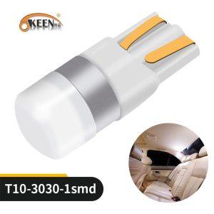 OKEEN Car T10 Led Canbus 6000K White T10 w5w Led Bulbs DRL Turn Parking Width Interior Innrech Market.com