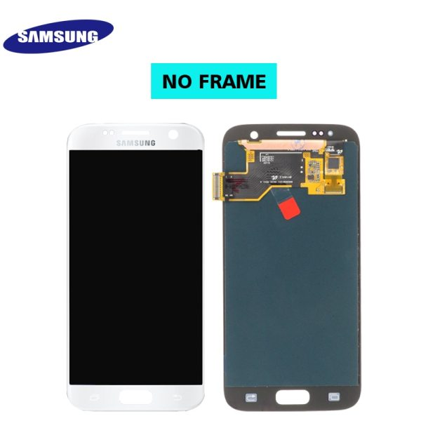 ORIGINAL 5 1 SUPER AMOLED LCD For Samsung Galaxy S7 G930 SM G930F G930F LCD Display 3 ORIGINAL 5.1'' SUPER AMOLED LCD For Samsung Galaxy S7 G930 SM-G930F G930F LCD Display With Touch Screen Digitizer Replacement