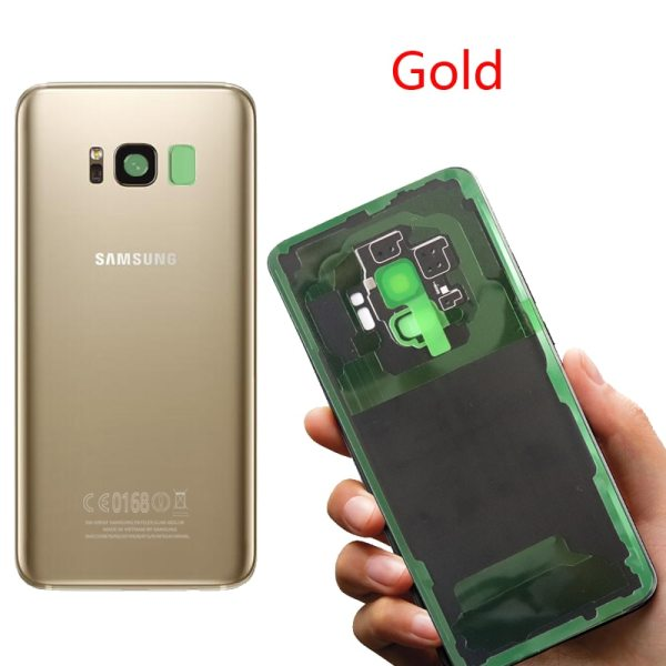 ORIGINAL Back Glass for SAMSUNG Galaxy S8 G950 G950F Display S8 Plus G955 G955F Battery Cover 5 ORIGINAL Back Glass for SAMSUNG Galaxy S8 G950 G950F Display S8 Plus G955 G955F Battery Cover Rear Door Housing with Camera Lens