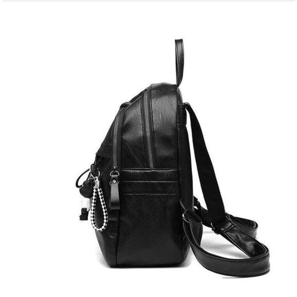 On sale New 2019 Women ladies PU Leather small Backpacks for Teenage Girls Female School Shoulder 2 On sale New 2019 Women ladies PU Leather small Backpacks for Teenage Girls Female School Shoulder Bag bag pack mochila