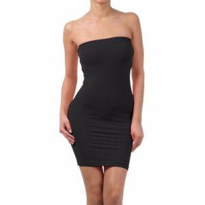 Sexy Backless Sleeveless Slim Elastic Tight Body con Basic Dresses Tanks Vest ladies Dress Strap Solid Innrech Market.com