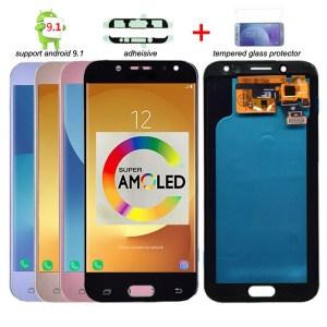 Super Amoled LCD For Samsung Galaxy J5 2017 J530 J530F LCD Display Touch Screen Digitizer Assembly Innrech Market.com