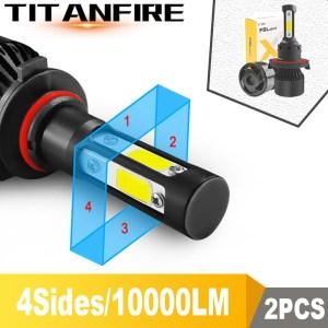TF30 New 4 Side Lumens COB 100W 10000lm H4 Hi lo H7 H11 9005 9006 Car Innrech Market.com