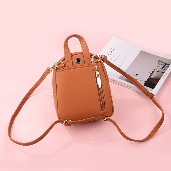 WEICHEN New Designer Fashion Women Backpack Mini Soft Touch Multi Function Small Backpack Female Ladies Shoulder 3 WEICHEN New Designer Fashion Women Backpack Mini Soft Touch Multi-Function Small Backpack Female Ladies Shoulder Bag Girl Purse