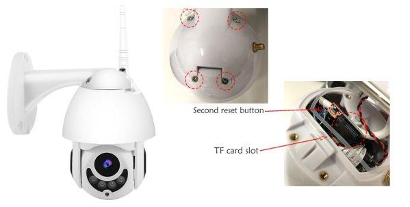 WIFI Camera Outdoor PTZ IP Camera H 265X 1080p Speed Dome CCTV Security Cameras IP Camera 1 WIFI Camera Outdoor PTZ IP Camera H.265X 1080p Speed Dome CCTV Security Cameras IP Camera WIFI Exterior 2MP IR Home Surveilance