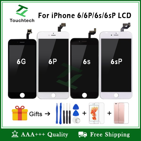 White Black 100 OEM Screen For iPhone 6 6 Plus 6s Plus LCD Screen Replacement Display White&Black 100% OEM Screen For iPhone 6 6 Plus 6s Plus LCD Screen Replacement Display with 3D Touch Screen Digitizer Assembly