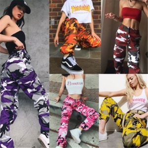 Women s Camouflage Cargo Trousers Casual Pants Military Army Combat Camouflage Jeans Sexy Women Casual Colorful Innrech Market.com