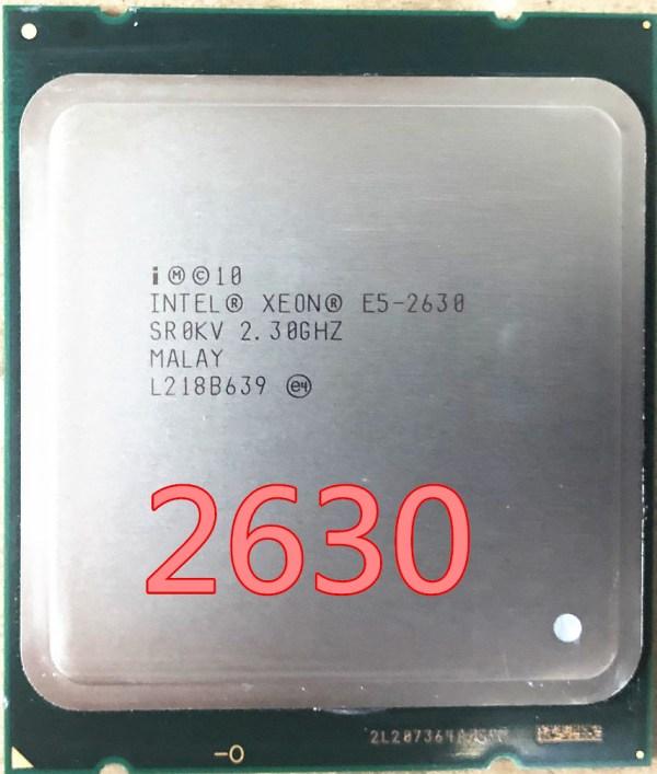 intel xeon e5 2630 SR0KV E5 2630 2 3GHZ 7 2GT s 15MB SIX CORE LGA2011 intel xeon e5 2630 SR0KV E5-2630 2.3GHZ 7.2GT/s 15MB SIX CORE LGA2011 E5-2630 Processore CPU