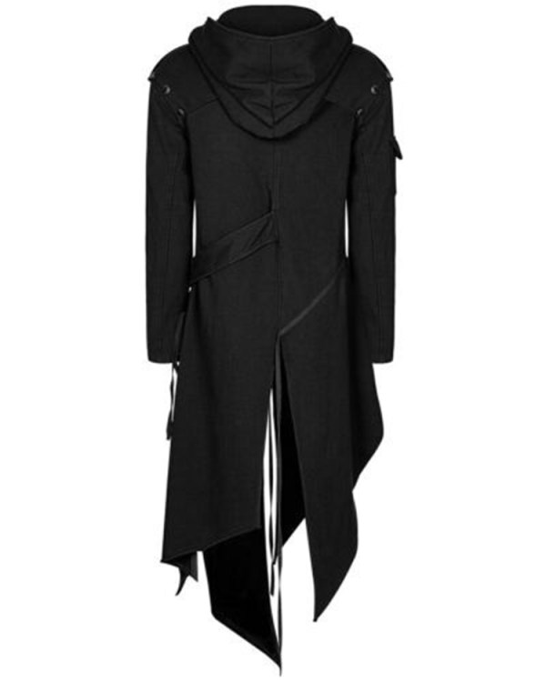 2019 Men Long Sleeve Steampunk Victorian Jacket Gothic Belt Swallow Tail Coat Cosplay Costume Vintage Halloween 4 2019 Men Long Sleeve Steampunk Victorian Jacket Gothic Belt Swallow-Tail Coat Cosplay Costume Vintage Halloween Long Uniform