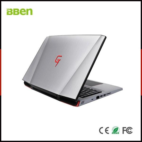 BBen G16 15 6 Laptop Windows 10 Intel i7 7700HQ GTX1060 16GB RAM 256GB SSD 1T 5 BBen G16 15.6'' Laptop Windows 10 Intel i7 7700HQ GTX1060 16GB RAM 256GB SSD 1T HDD Metal Case Backlit Keyboard IPS WiFi BT4.0