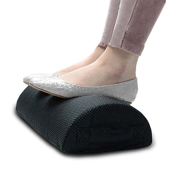 Comfort Foot Rest Pillow Cushion Memory Foam Under Office Desk Half Cylinder Home Foot Relax Pain Comfort Foot Rest Pillow Cushion Memory Foam Under Office Desk Half Cylinder Home Foot Relax Pain Relief Relaxing Cushion Pad