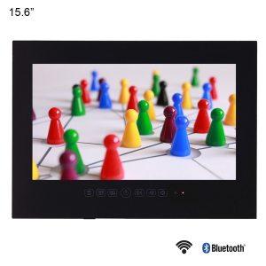 Souria 15 6 Black Bathroom Waterproof LED Android 9 0 Smart Wi Fi Shower Hidden TV Innrech Market.com