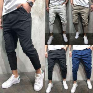 Brand Men Pants Hip Hop Harem Joggers Pants 2018 Male Trousers Mens Joggers Solid Shrink Ankle Innrech Market.com