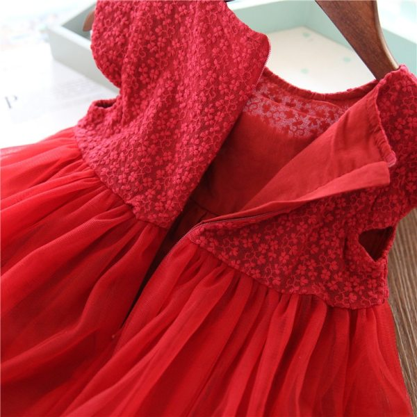 Girls Dresses 2019 Fashion Girl Dress Lace Floral Design Baby Girls Dress Kids Dresses For Girls 3 Girls Dresses 2019 Fashion Girl Dress Lace Floral Design Baby Girls Dress Kids Dresses For Girls Casual Wear Children Clothing