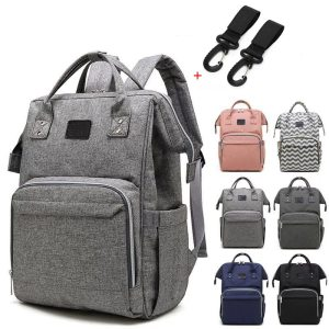Nappy Backpack Bag Mummy Large Capacity Bag Mom Baby Multi function Waterproof Outdoor Travel Diaper Bags Innrech Market.com