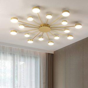 New led Chandelier For Living Room Bedroom Home chandelier by sala Modern Led Ceiling Chandelier Lamp Innrech Market.com