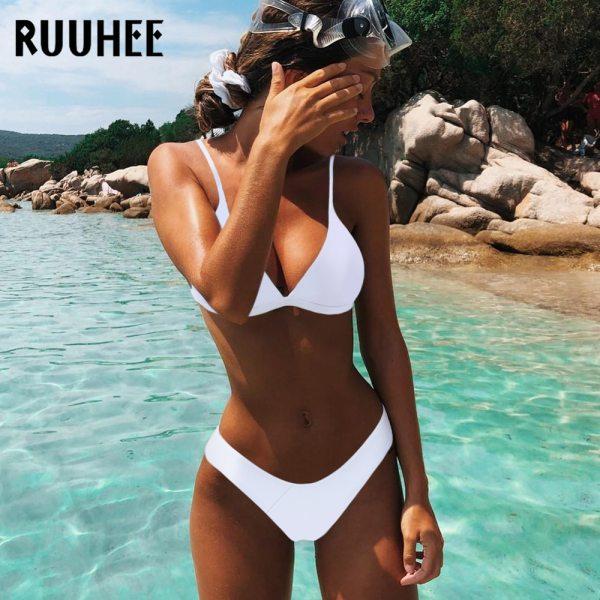 RUUHEE Brazilian Bikini Swimwear Women Swimsuit 2019 Micro Bikini Set Push Up Bathing Suit Beach Wear RUUHEE Brazilian Bikini Swimwear Women Swimsuit 2019 Micro Bikini Set Push Up Bathing Suit Beach Wear Maillot De Bain Femme