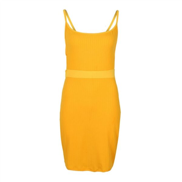 Summer Sexy Bandage Hollow Out Dress Women Fashion Sleeveless Backless Bodycon Party Club Dress Mini Wrap 2 Summer Sexy Bandage Hollow Out Dress Women Fashion Sleeveless Backless Bodycon Party Club Dress Mini Wrap Dress
