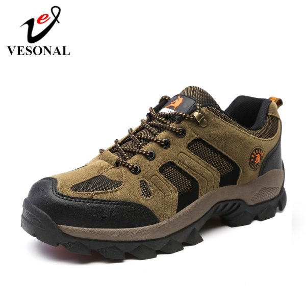 VESONAL 2019 New Autumn Winter Sneakers Men Shoes Casual Outdoor Hiking Comfortable Mesh Breathable Male Footwear 1 VESONAL 2019 New Autumn Winter Sneakers Men Shoes Casual Outdoor Hiking Comfortable Mesh Breathable Male Footwear Non-slip