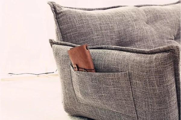 image1 Lazy Sofa, Tatami Small Huxing Double Japanese Dual-purpose Reading Bedroom, Balcony, Leisure Folding Sofa Bed
