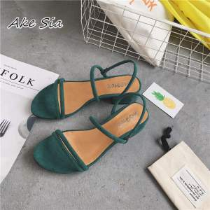 new Flat outdoor slippers Sandals foot ring straps beaded Roman sandals fashion low slope with women Innrech Market.com