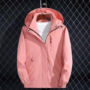2019 Brand Jacket Spring Autumn Women Long Jacket Female Casual Pink Coat Bomber Jacket Basic Outwear Innrech Market.com
