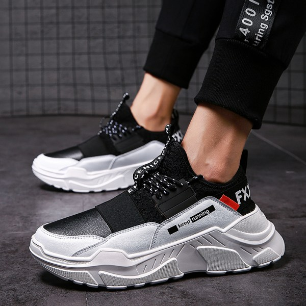 2019 Male Lace up Men Sneakers High Quality Man Non Slip Comfortable Casual Shoes Mesh Sneakers 2 2019 Male Lace-up Men Sneakers High Quality Man Non Slip Comfortable Casual Shoes Mesh Sneakers Breathable Outdoor Walking Shoes