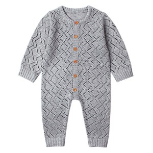 2019 Newborn baby boy rompers Toddler Jumpsuit Girls Candy Color Knitted Baby Clothes Infant Boy Overall Innrech Market.com