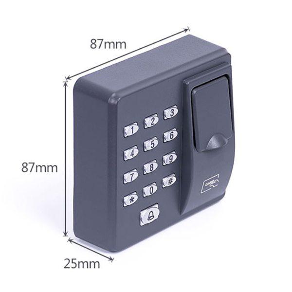 Fingerprint Access Control Standalone Single Door Controller Cheapest Standalone Keypad Finger RFID Card X6 Door Entry 2 Fingerprint Access Control Standalone Single Door Controller Cheapest Standalone Keypad Finger +RFID Card X6 Door Entry