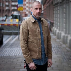MADEN Men s Waxed Canvas Cotton Jacket Military Light Spring Work Jacket Khaki Innrech Market.com