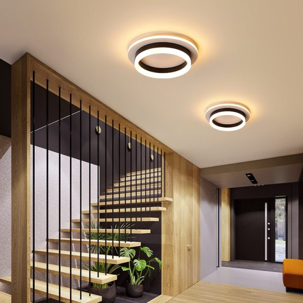 Modern Led Ceiling Lights For Hallway Porch Balcony Bedroom Living Room Surface Mounted Square Round LED 4 Modern Led Ceiling Lights For Hallway Porch Balcony Bedroom Living Room Surface Mounted Square/Round LED Ceiling Lamp